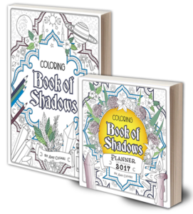 Coloring Book of Shadows Adult Coloring Books