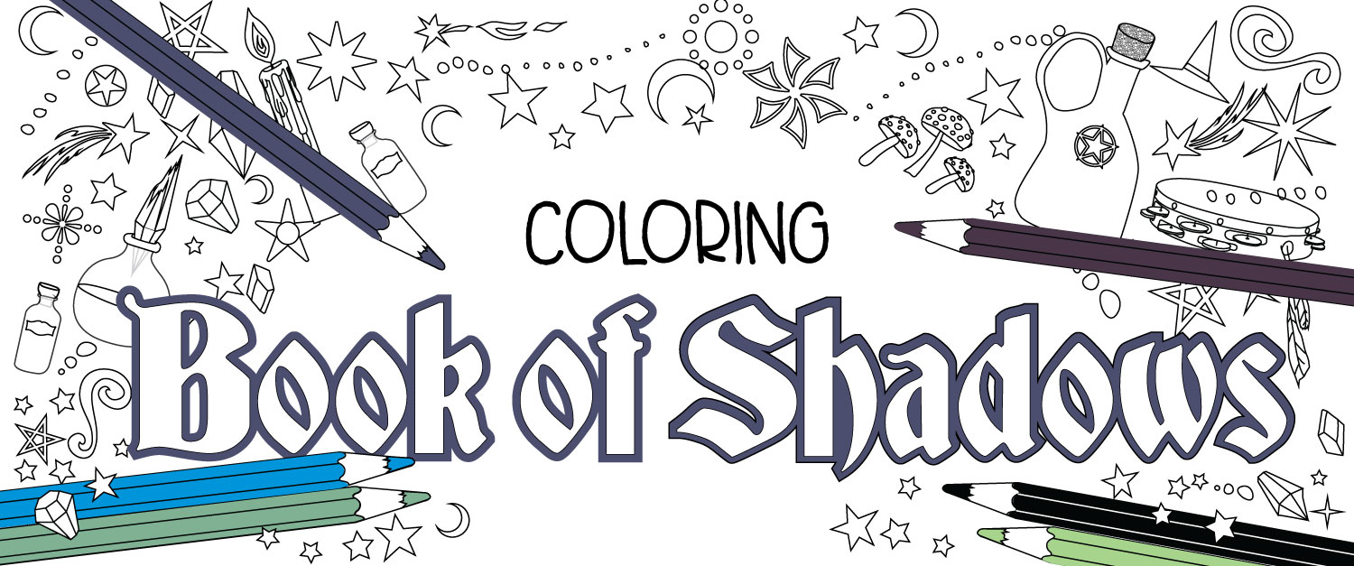 Welcome to the new website coloring book of shadows Coloring book of shadows