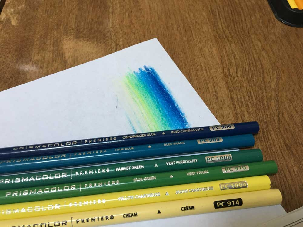Colored Pencil Background Tips