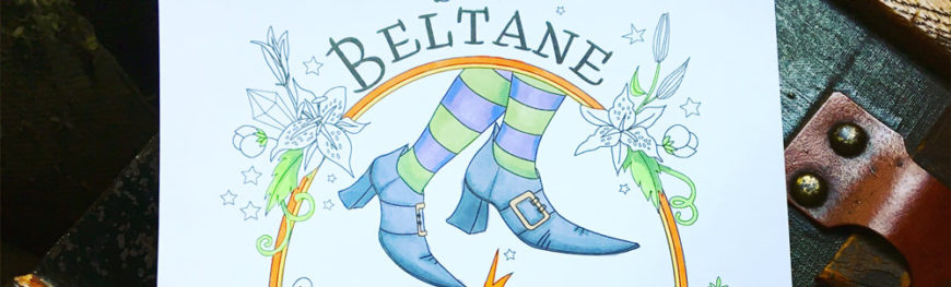 Beltane Coloring Page
