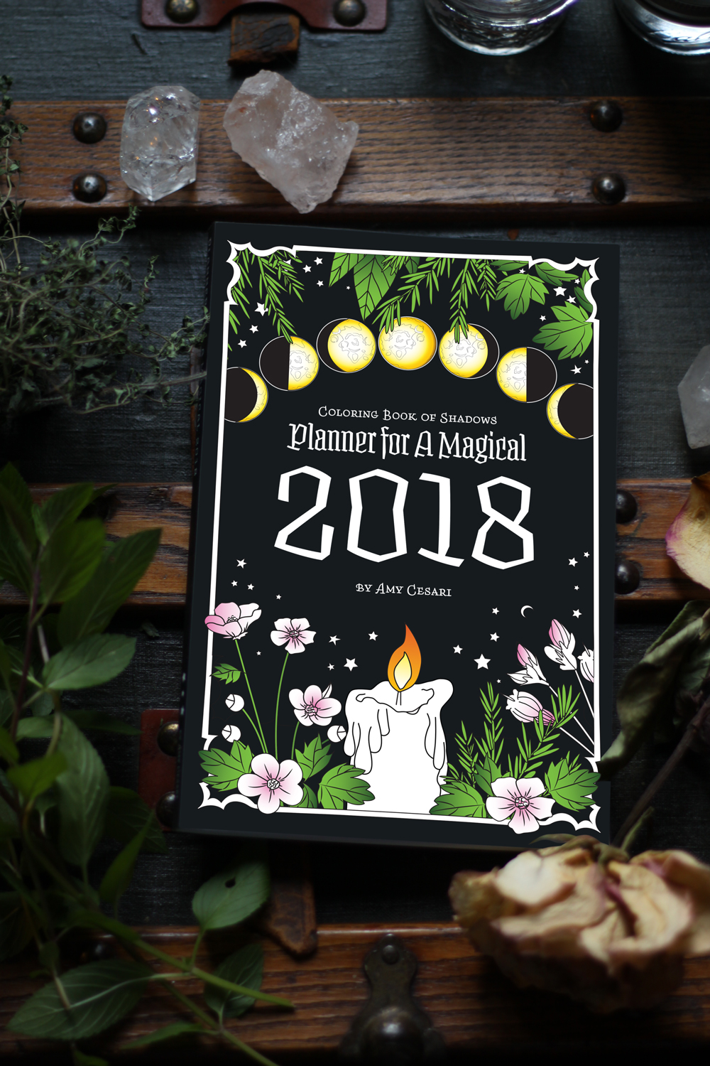 Planner for a Magical 2018 Coloring