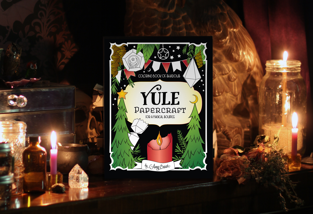 Yule PaperCraft for a Magical Solstice
